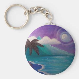 Twilight in Paradise Keychain