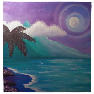 Twilight in Paradise Napkin