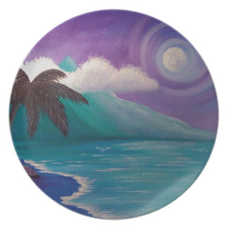 Twilight in Paradise Plate
