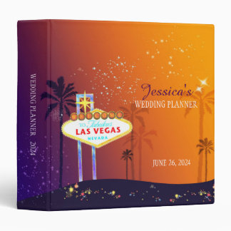 Twilight Las Vegas Wedding Planner Binders