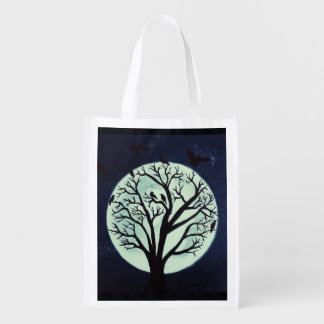 Twilight Meeting Trick or Treat Candy Bag Grocery Bags