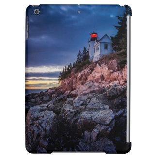 Twilight Over Bass Harbor Lighthouse, Acadia iPad Air Cover