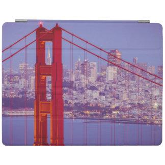 Twilight Over The Golden Gate Bridge iPad Cover