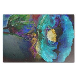 Twilight Poppy Tissue Paper