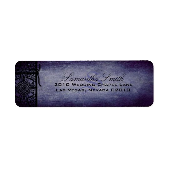 Twilight Return Label D Return Address Label