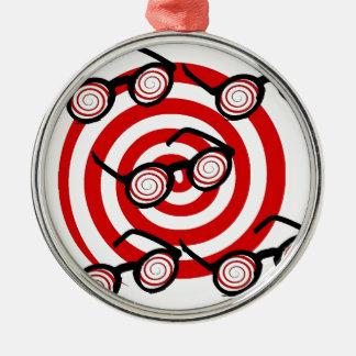 Twilight Sci-Fi Silver-Colored Round Ornament