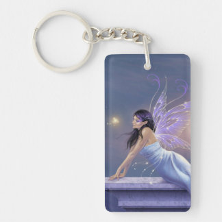 Twilight Shimmer Fairy Double Sided Keychain