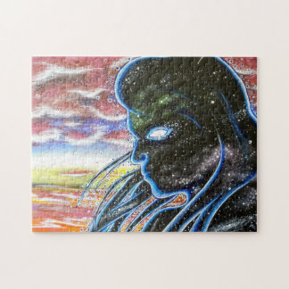 Twilight Silhouette Jigsaw Puzzle