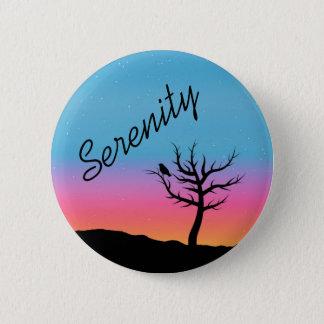 Twilight Sky Serenity Design 2 Inch Round Button