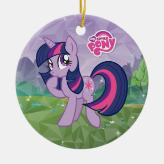 Twilight Sparkle Ceramic Ornament