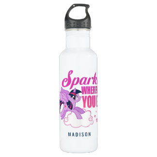 Twilight Sparkle   Sparkle Wherever You Go 710 Ml Water Bottle