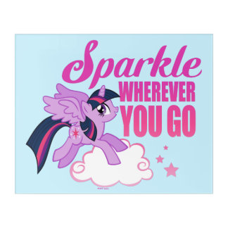 Twilight Sparkle | Sparkle Wherever You Go Acrylic Print