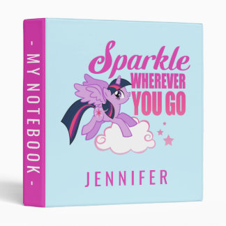 Twilight Sparkle | Sparkle Wherever You Go Binder