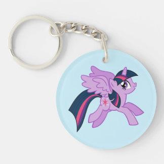 Twilight Sparkle | Sparkle Wherever You Go Double-Sided Round Acrylic Keychain