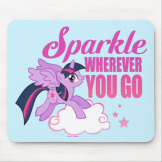Twilight Sparkle | Sparkle Wherever You Go Mouse Pad