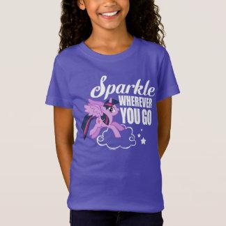 Twilight Sparkle | Sparkle Wherever You Go T-Shirt