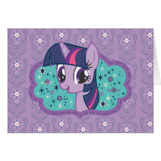 Twilight Sparkle Stars Card