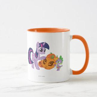 Twilight Sparkle with Halloween Pumpkin Mug
