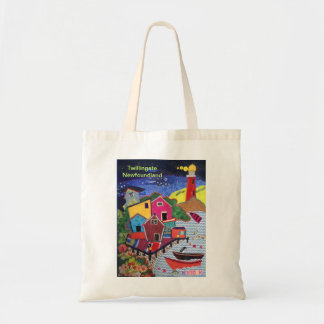 Twillingate Newfoundland design Tote bag