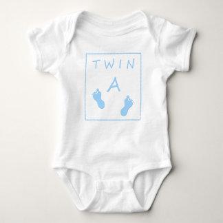 Twin A baby twin boy Baby Bodysuit