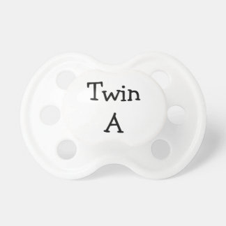 Twin A Pacifier