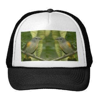 Twin American Wild Birds - Kids Fancy Fantasy Gift Mesh Hats