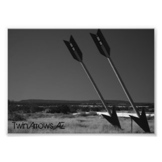 Twin Arrows Art Photo