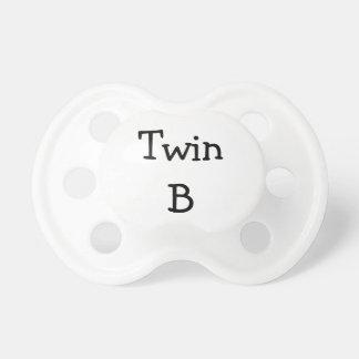 Twin B Pacifier