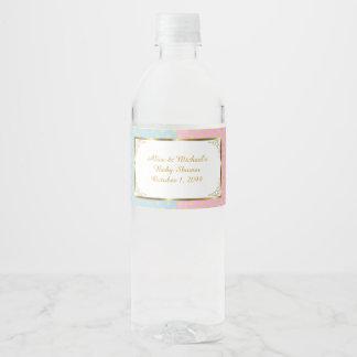 TWIN Baby Shower, Water Bottle Labels2,Baby Shower Water Bottle Label