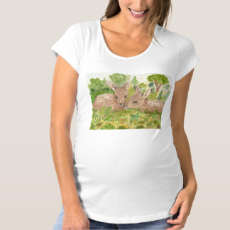 TWIN BAMBIES MATERNITY T-Shirt