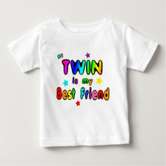 Twin Best Friend Baby T-Shirt