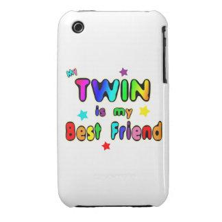 Twin Best Friend iPhone 3 Case-Mate Case