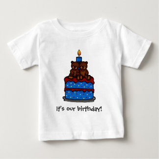Twin boys Birthday t-shirts