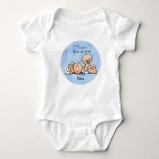 Twin Boys - Royal Princes Baby Bodysuit
