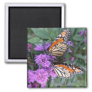 Twin Butterflies/ Happy Mother's Day Magnet
