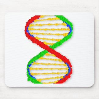 Twin DNA Strands Mouse Pad