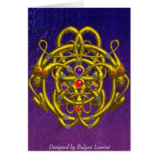 TWIN DRAGONS CARD