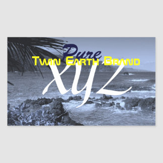 Twin Earth Brand: Pure XYZ Sticker