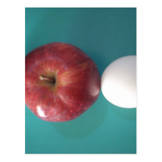 Twin Egg red apple for a pie.JPG Postcard