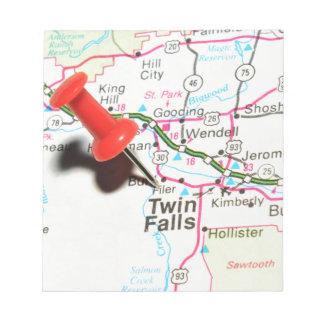 Twin Falls, Idaho Notepad