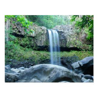 Twin Falls Maui Postcard