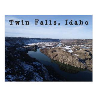 Twin Falls Snake River Canyon Postcard