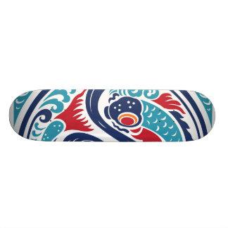Twin Fish Custom Skateboard