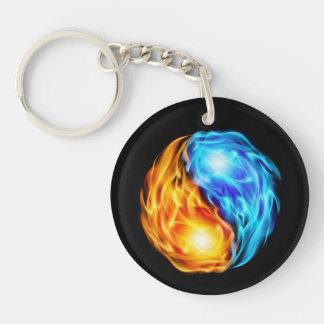 Twin Flames Keychain