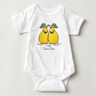 Twin fruits - Perfect Pair Baby Bodysuit