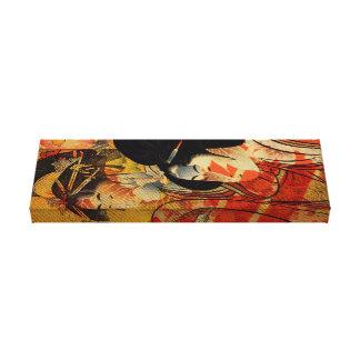 Twin Geishas Canvas Print