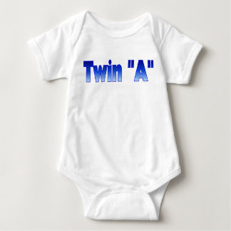 Twin InfantT-Shirt Baby Bodysuit