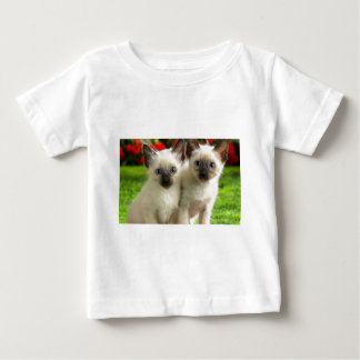 Twin Kittens Baby T-Shirt