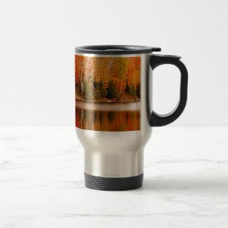 Twin Lakes Fall Colours, St Joseph Island Travel Mug