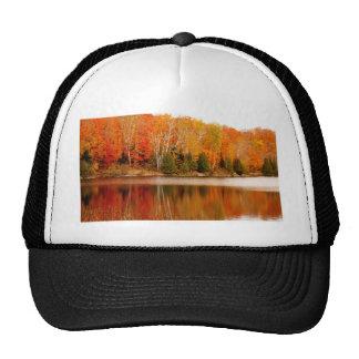 Twin Lakes Fall Colours, St Joseph Island Trucker Hat